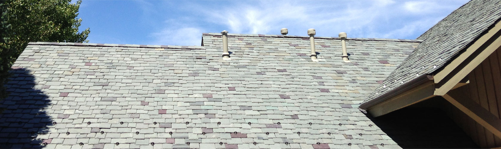 Advanced technology makes genuine slate and handcrafted clay tiles attainable for all projects